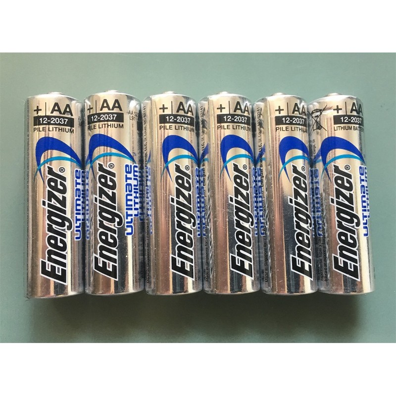 Batteries Energizer AA 1.5V Lithium 6x