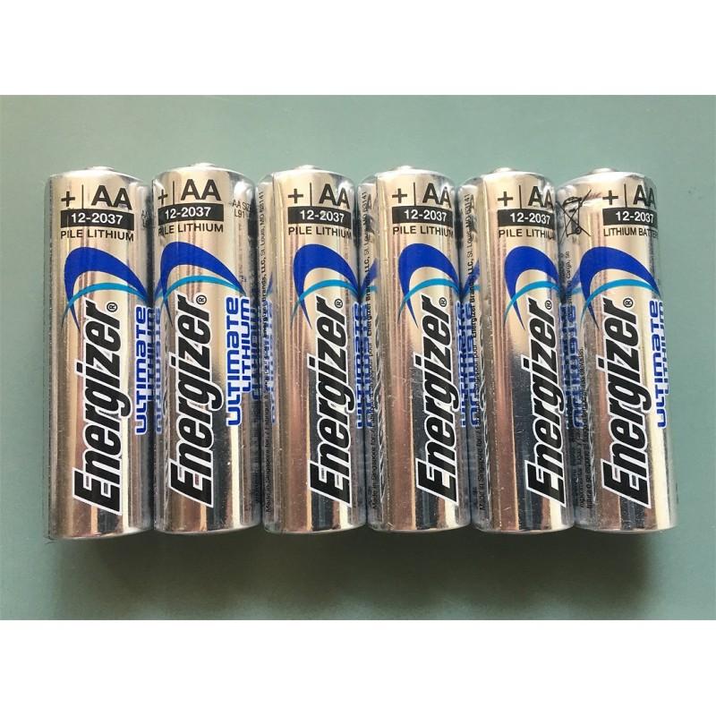 Batterien Energizer AA 1.5V Lithium 6x