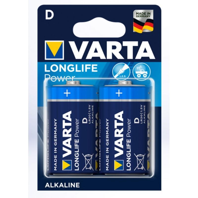 Batterien Varta Mono D 1.5V 2er Pack
