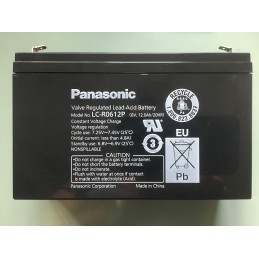 Panasonic LC_R0612P 6 V/12 A/h