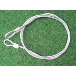 Câble de sécurité 1.8m x Ø 5mm