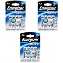 3x Batteries Energizer AA 1.5V Lithium